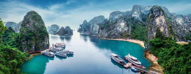 Hanoi, Halong Bay Cruise & Beach 2