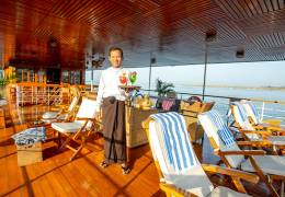 Irrawaddy Delta Cruise & Beach