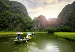 North Vietnam Red River Cruise